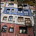 捷奧蜜月旅行Day14-Wien 百水公寓