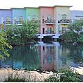 湧泉池畔的美麗彩虹