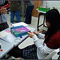 2007/12/19做卡片&走廊吃湯圓