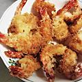 RT媽噪咖~ㄧ蝦二吃   炸蝦排+粉絲蝦煲