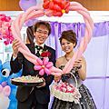 2014-01-19 承鴻 雅雯 訂結@ 內湖頂廚國宴