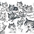 20070918-喵喵素描插畫