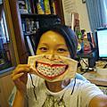 20090828-訂單-手繪口罩戴牙套