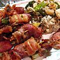 鮮蝦牡蠣捲