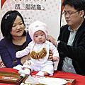 2012.01.15 甯寶貝收涎囉~