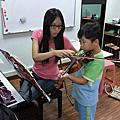小提琴上課實況