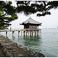 [日本滋賀 琵琶湖八景之一。堅田 浮御堂]