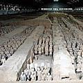 20180527 中國陝西,西安秦始皇兵馬俑博物館朝聖
