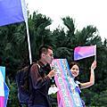 2011 新竹彩虹文化祭, 高雄、台北、台中同志遊行