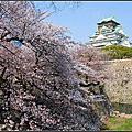 20140408 京都大阪賞櫻之旅-大阪寺公園&天守閣