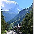 20130811 抵達 Zermatt & folklore festival