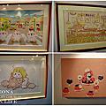 台中展覽 卡娜赫拉的愜意小鎮特展。夢幻好拍景場、兔兔P助療癒周邊購買不停