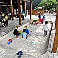台中蔬食 熱浪島南洋蔬食茶堂,異國風料理親子餐廳 沙坑遊戲區
