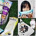 全家限定 韓國樂天冰品甜蜜登場 藍莓優格雪糕 藍莓起司脆片雪糕 薄荷巧克力甜筒 馬卡龍甜筒 全家便利商店限定販售