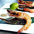 台中太平美食餐廳|上紅鐵板燒創意料理-活體海鮮生猛上桌,海陸雙享的午間超值雙人龍蝦套餐,彭派豐盛又美味