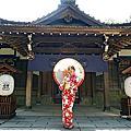 嘉義親子景點 昭和J18 嘉義市史蹟資料館-穿著美美花浴衣在神社咖啡廳中品嚐美味料理,彷彿置身日本小京都的愜意