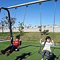 台東親子景點|東海運動公園-太平溪旁享受陽光綠地的休閒好去處,還有桌球館、羽球館、籃球場喔!!|免費景點