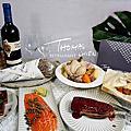 宅配美食|高雄法餐南霸天-THOMAS. 簡 法式雙饗套餐HOME MEAL KIT-雙人美味、經典菜色輕鬆上桌