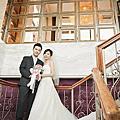 Claire+Alex婚禮紀錄  蘆洲富基時尚婚宴會館