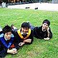 20090626高中同學學士服外拍團