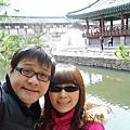 2012.04.05-韓國Day5(南山公園、南山韓屋村、珍珠草護肝寶、土產店、PLAY DOCI室內滑雪場)
