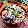 泰式綠咖哩海鮮燉飯