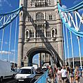 倫敦塔、塔丘與塔橋