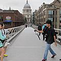 倫敦鐵橋與千禧橋