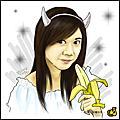 [香蕉創作] 正眉(?)吃香蕉