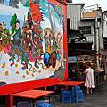 台南‧馬公廟邊海產攤