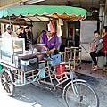 台南‧永康區 大灣阿樂三輪車炭烤香腸黑輪