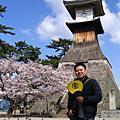 2007-04-04~08日本四國山陽山陰賞櫻行-Day 2:金刀比羅宮、松山城、道後溫泉
