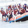 2008-08-01~03大學好友花蓮驕陽泛舟行