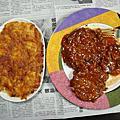 焗烤馬鈴薯泥&日式漢堡排