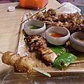 台南食記-泰式幽靈串燒