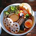 2016.08.06 觀察無死角的旭川動物園。蔬菜滿滿的奧芝商店湯咖哩