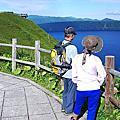 2016.08.10 美幌峠。道東三湖──屈斜路湖、摩周湖。砂湯。硫磺山。知床峠