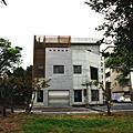 外牆拉皮之木紋清水模及仿清水建築粉刷-建平三街