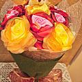 黃色花語-花束(情人節花束, 結婚花束, 新娘捧花, 手工花束)