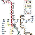 北捷官方路線圖