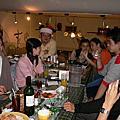 20051220 珮君弟弟開的義大利餐廳,13個同學的聚會