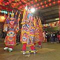 2014.02.14新竹境福宮元宵節活動和新竹市護城河上的琉璃花燈