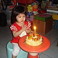 2008年10月14日宥宥的2歲生日
