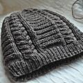 型男毛線編織帽