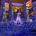 汐留Caretta聖誕點燈超夢幻