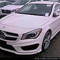 2014 CLA250 AMG #42312 2013/09 白色4.5萬英里HID頭燈大螢幕倒車顯影HK高傳真音響電熱椅AMG外觀懸吊鋁圈 無天窗 140萬 #22500