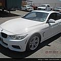 2014 428i #1002 白色 M-Sport 4.8萬英里 NBT大螢幕、LED頭燈、抬頭顯示、倒車顯影、Key Go、H/K音響