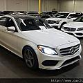 (已收訂)2016 C300 4Matic #24893 外白內黑 AMG版 盲點 倒車顯影 巡航控制系統 全景天窗 LED頭燈 加熱方向盤 5萬Miles 只要146萬