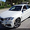 2014/12出廠 BMWX6 白外紅內 跑4.5萬英里 198萬