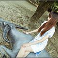 120907兔子白河電影文化城復古旗袍風外拍